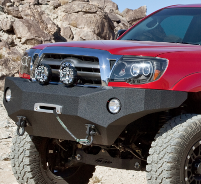 Body Armor - Body Armor TC-19335 Front Winch Bumper Toyota Tacoma 2005-2011 - Image 1