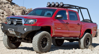 Body Armor - Body Armor TC-19335 Front Winch Bumper Toyota Tacoma 2005-2011 - Image 2