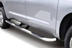 Nerf/Step Bar (Wheel to Wheel) - Nerf/Step Bar (Wheel to Wheel) - Go Rhino - Go Rhino 61150PS 6000 Series SideSteps Wheel To Wheel SideStep