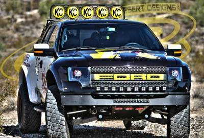 "Addictive Desert Designs - ADD F014412900103 Race Series ""R"" Front Bumper Ford Raptor 2010-2014 - Image 3"