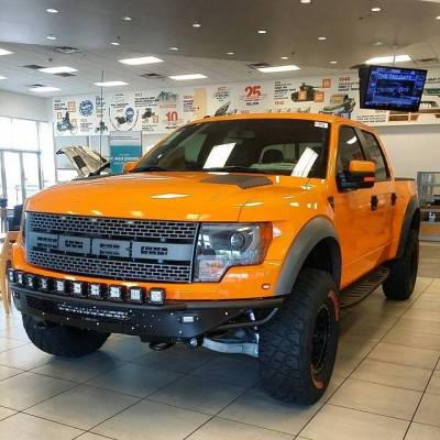 "Addictive Desert Designs - ADD F014532910103 Race Series ""R"" Front Bumper Ford Raptor 2010-2014 - Image 4"