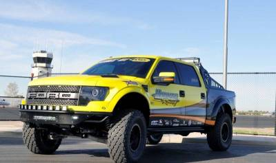 "Addictive Desert Designs - ADD F014532910103 Race Series ""R"" Front Bumper Ford Raptor 2010-2014 - Image 7"