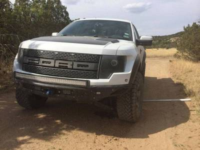 "Addictive Desert Designs - ADD F014682960103 Race Series ""R"" Front Bumper Ford Raptor 2010-2014 - Image 7"