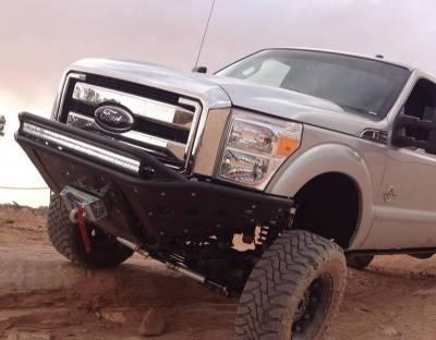 Addictive Desert Designs - ADD F062932680103 Winch Stealth Front Bumper Ford F250/F350 2011-2016 - Image 2