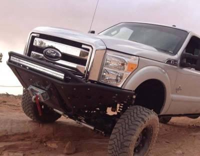 Addictive Desert Designs - ADD F073092400103 Stealth Front Bumper Ford F250/F350 2008-2010 - Image 2