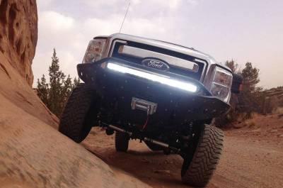 Addictive Desert Designs - ADD F073092400103 Stealth Front Bumper Ford F250/F350 2008-2010 - Image 4