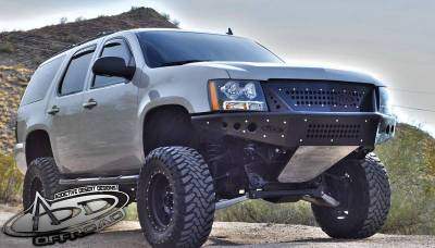 Addictive Desert Designs - ADD F1503452580103 Stealth Front Bumper with Upper Grille Chevy Tahoe / Surburban / Avalanche 2007-2013 - Image 3