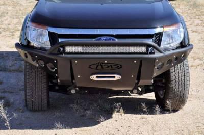 Addictive Desert Designs - ADD F253471200103 Stealth Front Bumper Ford Ranger T6 2011-2013 - Image 2