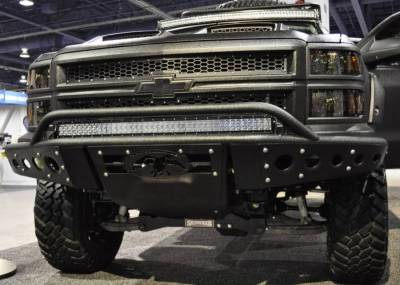 Addictive Desert Designs - ADD F282892680103 Stealth Front Bumper Chevy Silverado 1500 2014-2015 - Image 2
