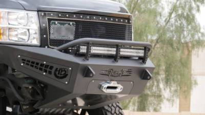 Addictive Desert Designs - ADD F297315000103 Non-Winch Honey Badger Front Bumper Chevy 2500/3500 2011-2014 - Image 4