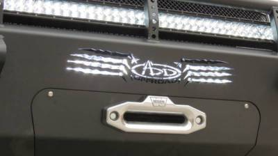 Addictive Desert Designs - ADD F297355000103 Winch Honey Badger Front Bumper Chevy 2500/3500 2011-2014 - Image 2