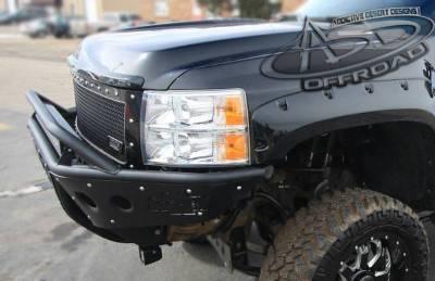 Addictive Desert Designs - ADD F312972680103 Stealth Front Bumper Chevy 2500/3500 2007-2010 - Image 4