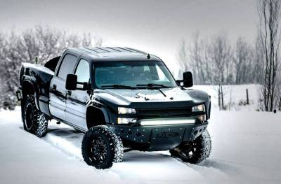 Addictive Desert Designs - ADD F332892680103 Stealth Front Bumper Chevy 2500/3500 2003-2006 - Image 5