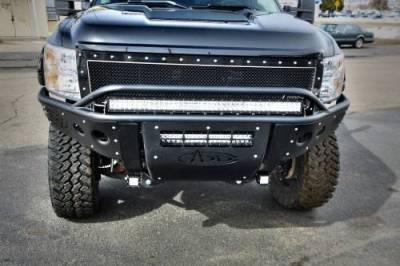 Addictive Desert Designs - ADD F393061150103 Stealth Front Bumper GMC Sierra 2500/3500 2011-2014 - Image 4