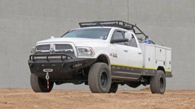 Addictive Desert Designs - ADD F517315000103 Non-Winch Honey Badger Front Bumper Dodge Ram 2500/3500 2010-2018 - Image 4