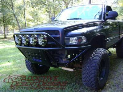 Addictive Desert Designs - ADD F543111000103 Stealth Front Bumper Dodge Ram 1500 1993-2001 - Image 1