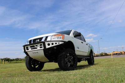 Addictive Desert Designs - ADD F902942390103 Stealth Front Bumper Nissan Titan 2004-2013 - Image 1