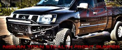 Addictive Desert Designs - ADD F902942390103 Stealth Front Bumper Nissan Titan 2004-2013 - Image 2