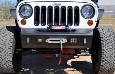Addictive Desert Designs - ADD F951241380103 Stealth Fighter Front Bumper Jeep Wrangler JK 2007-2017 - Image 1