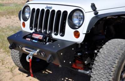 Addictive Desert Designs - ADD F951241380103 Stealth Fighter Front Bumper Jeep Wrangler JK 2007-2017 - Image 2