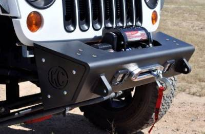 Addictive Desert Designs - ADD F951241380103 Stealth Fighter Front Bumper Jeep Wrangler JK 2007-2017 - Image 5