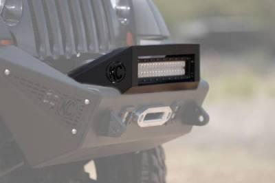 """Addictive Desert Designs - ADD F9512812501NA Stealth fighter 20"""" LED Hoop Jeep JK 2007-2014 - Image 4"""