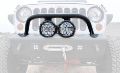 "Addictive Desert Designs - ADD F9513010101NA Top Hoop for 6"" Lights Jeep Wrangler JK 2007-2017 - Image 4"