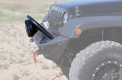 """Addictive Desert Designs - ADD F9513110001NA Stealth Fighter Top Hoop for 8"""" Lights Jeep Wrangler JK 2007-2017 - Image 3"""