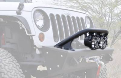 "Addictive Desert Designs - ADD F9513610101NA Top Hoop for 6"" Lights Jeep Wrangler JK 2007-2017 - Image 3"