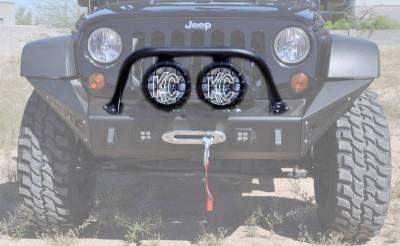 """Addictive Desert Designs - ADD F9513710001NA Stealth Fighter Top Hoop for 8"""" Lights Jeep Wrangler JK 2007-2017 - Image 1"""