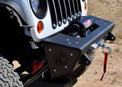 Addictive Desert Designs - ADD F951461350103 Stealth Fighter Front Bumper Jeep Wrangler JK 2007-2017 - Image 2