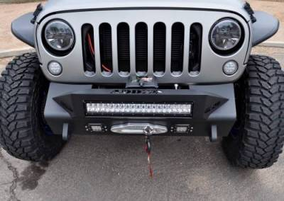 Addictive Desert Designs - ADD F951461350103 Stealth Fighter Front Bumper Jeep Wrangler JK 2007-2017 - Image 4