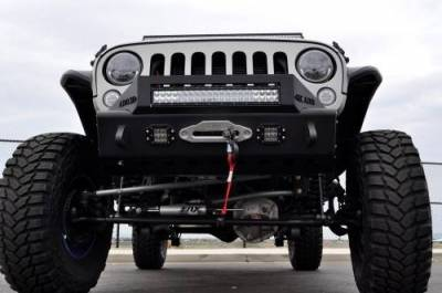 Addictive Desert Designs - ADD F951461350103 Stealth Fighter Front Bumper Jeep Wrangler JK 2007-2017 - Image 5