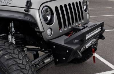 Addictive Desert Designs - ADD F951461350103 Stealth Fighter Front Bumper Jeep Wrangler JK 2007-2017 - Image 6