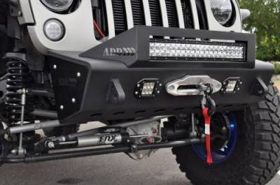 Addictive Desert Designs - ADD F951461350103 Stealth Fighter Front Bumper Jeep Wrangler JK 2007-2017 - Image 10