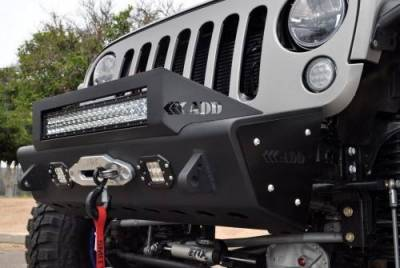 Addictive Desert Designs - ADD F951461350103 Stealth Fighter Front Bumper Jeep Wrangler JK 2007-2017 - Image 11