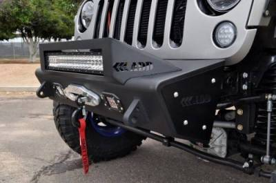 Addictive Desert Designs - ADD F951461350103 Stealth Fighter Front Bumper Jeep Wrangler JK 2007-2017 - Image 13
