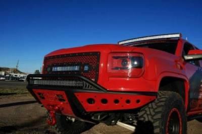 Addictive Desert Designs - ADD L3355011003NA Cab Mounted Lightbar Mount Chevy/GMC 2500/3500 2003-2006 - Image 5