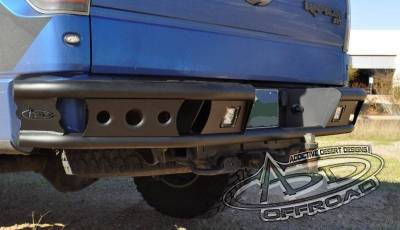 "Addictive Desert Designs - ADD R0122812801NA Dimple ""R"" Rear Bumper Ford Ecoboost F150 2011-2014 - Image 2"