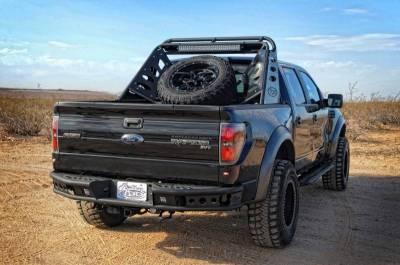 "Addictive Desert Designs - ADD R0123012801NA Dimple ""R"" Rear Bumper Ford Ecoboost F150 2011-2014 - Image 1"