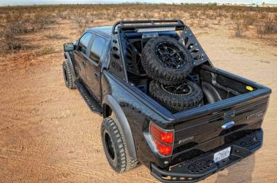 "Addictive Desert Designs - ADD R0123012801NA Dimple ""R"" Rear Bumper Ford Ecoboost F150 2011-2014 - Image 3"