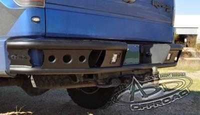 "Addictive Desert Designs - ADD R0123012801NA Dimple ""R"" Rear Bumper Ford Ecoboost F150 2011-2014 - Image 4"