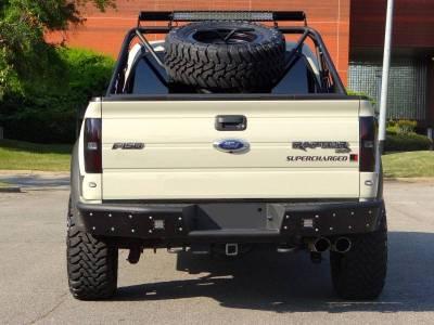 "Addictive Desert Designs - ADD R013281280103 Stealth ""R"" Rear Bumper Ford Ecoboost F150 2011-2014 - Image 4"