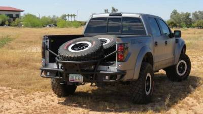Addictive Desert Designs - ADD R0149012801NA Race Series Rear Bumper Ford Ecoboost F150 2011-2014 - Image 1