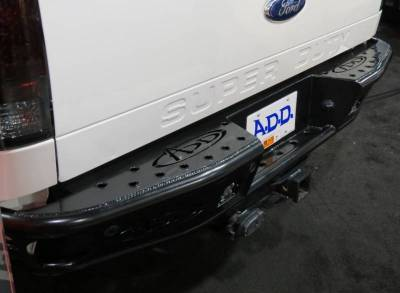 Addictive Desert Designs - ADD R0922912801NA Dimple Rear Bumper with Sensors Ford Ford F250/F350 1999-2016 - Image 2