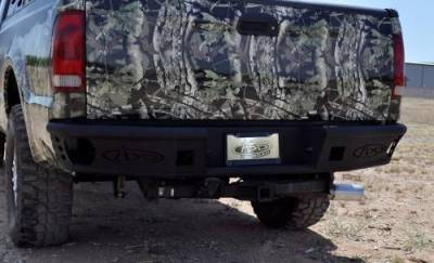 Addictive Desert Designs - ADD R0923012801NA Dimple Rear Bumper without Sensors Ford Ford F250/F350 1999-2016 - Image 3