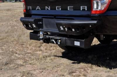 Addictive Desert Designs - ADD R252231280103 Venom Rear Bumper Ford Ranger T6 2011-2013 - Image 2