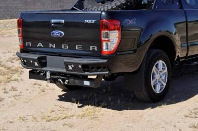 "Addictive Desert Designs - ADD R252291280103 Dimple ""R"" Rear Bumper Ford Ranger T6 2011-2013 - Image 2"