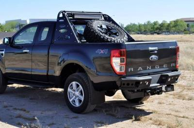 "Addictive Desert Designs - ADD R252291280103 Dimple ""R"" Rear Bumper Ford Ranger T6 2011-2013 - Image 5"