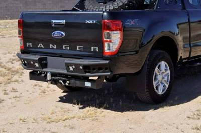 "Addictive Desert Designs - ADD R252291280103 Dimple ""R"" Rear Bumper Ford Ranger T6 2011-2013 - Image 6"